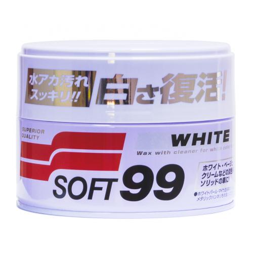 00020 Очищающий воск для белых автомобилей