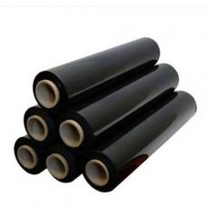 Стрейч плёнка 20 мкм чёрная